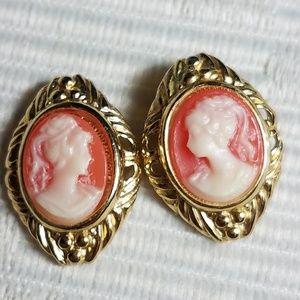Beautiful CAMEO earrings
